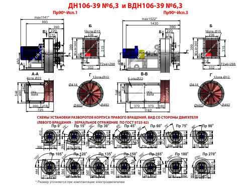 дымосос ДН 6 3 характеристики, дымосос ДН-6 3-1500 цена, купить, прайс лист, Украина, Харьков, Вентиляторный завод Укрвентсистемы