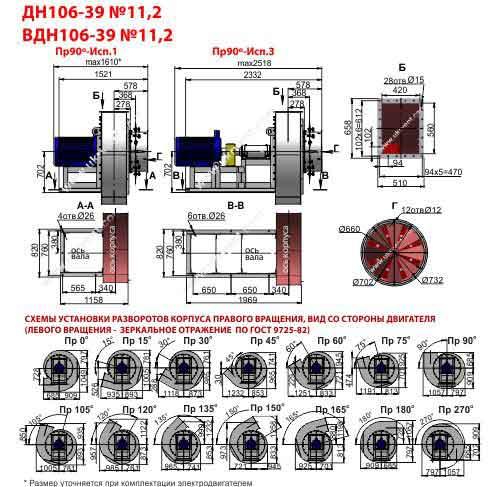 вентилятор типа вдн 11 2 цена габаритный чертеж вентилятор вдн-11 2