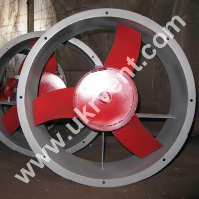 Вентиляторы промышленные осевые ВО-06-300