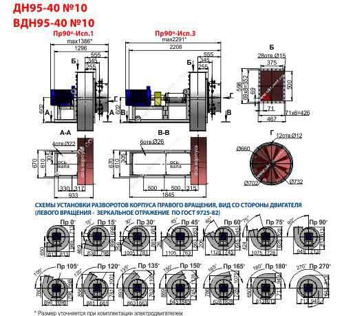 вентилятор вдн-10 цена характеристики, Украина, Харьков, Вентиляторный завод Укрвентсистемы