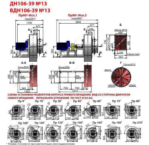 вдн 13 исполнение 3 характеристики, вдн 13 завод вентилятор Укрвентсистемы