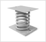 Виброизоляторы пружинные типа ДО