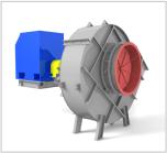 Вентиляторы горячего дутья ВГДН и ГД