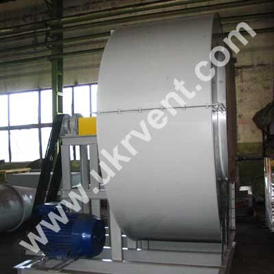 Вентилятор радиальный производство Укрвентсистемы ВЦ 4-75 №16 5 исполнение клиноременная передача