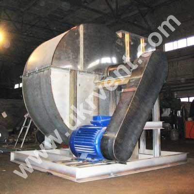 Вентилятор ВЦ 4-75 16 НЖ из нержавеющей стали 5 исполнение, клиноременная передача Украина Харьков