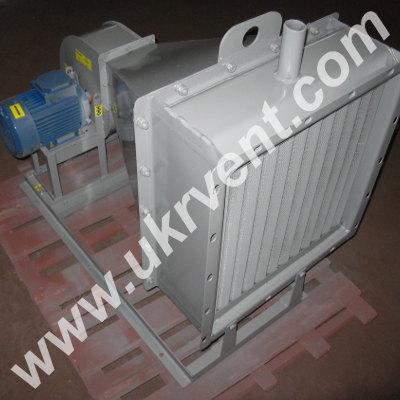 Производство паровых воздушно-отопительных агрегатов АО-ПВР.3  Украина Харьков