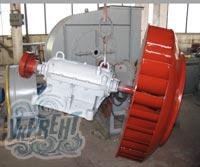 Вентилятор радиальный (центробежный) дутьевой ВД-13,5