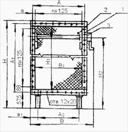 Конструкция фильтра ФР1-3