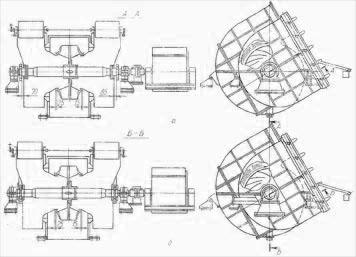 Схемы дымососов ГД26х2