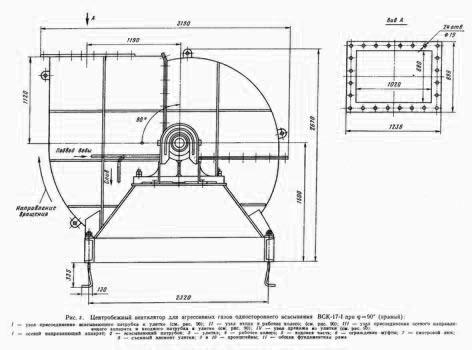 Вентилятор ВСК-17-1