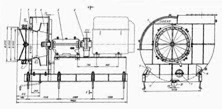 Вентилятор ВЦК 17