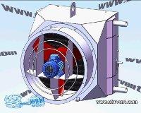 Агрегаты отопительные водяные и паровые с осевыми вентиляторами АО-ВВО 4