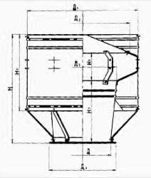 Дефлектор вентиляционный Чертеж