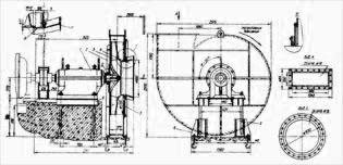 Вентилятор мельничный ВМ-17