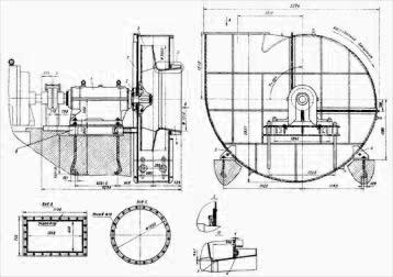 Вентилятор мельничный ВМ-20А