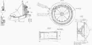 Вентилятор ВВДН-15 Конструкция, Чертеж