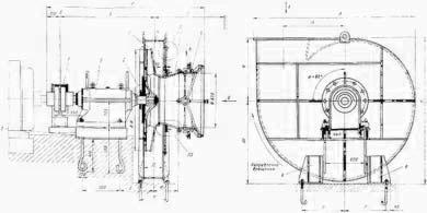 Вентилятор ВВДН-17 Конструкция, Чертеж