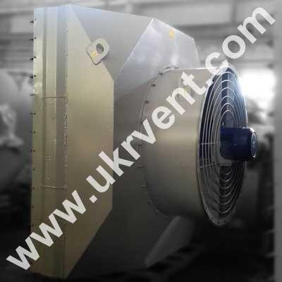 Агрегаты отопительные водяные и паровые с осевыми вентиляторами АО-ВВО 30 АО 2-30