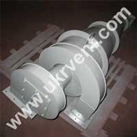 Циклон УЦМ 38 400 для мучной пыли с улиткой