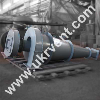 Циклон для мучной пыли УЦМ-38 500 Вентиляторный завод Укрвентсистемы