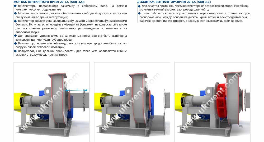 АВД-3,5, Вентилятор АВД-3,5ВЗ взрывозащищенный, Купить, Цена Украина Харьков , вентилятор высокого давления АВД, описание, характеристики, чертеж