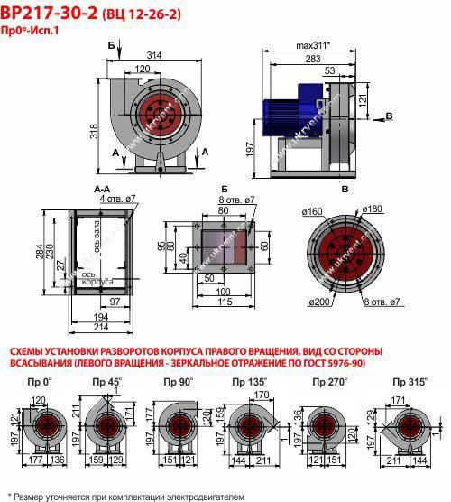 Вентилятор 12 26 2, Вентилятор высокого давления ВР 12 26 2, Радиальные вентиляторы ВР 12 26 2, Вентилятор ВР 12 26 2 характеристики, Вентилятор ВР 12-26 2 цена, купить, Вентиляторный завод Укрвентсистемы