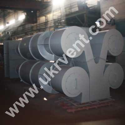 Циклон ЦН-15-800х4УП с улиткой и бункером