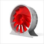 Вентилятор осевой ВО 06-300 с 12 лопатками