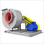 Вентилятор центробежный пылевой ВЦП