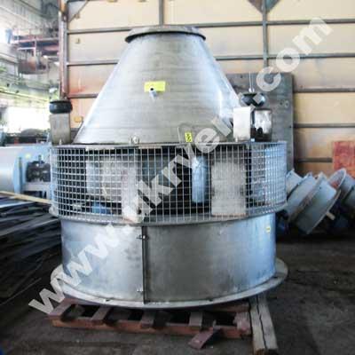 Взрывозащищенный крышный вентилятор ВКР-5