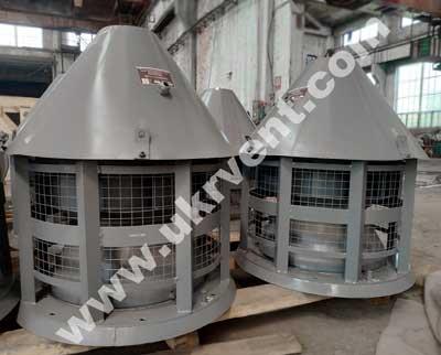 Крышные центробежные вентиляторы ВКР5