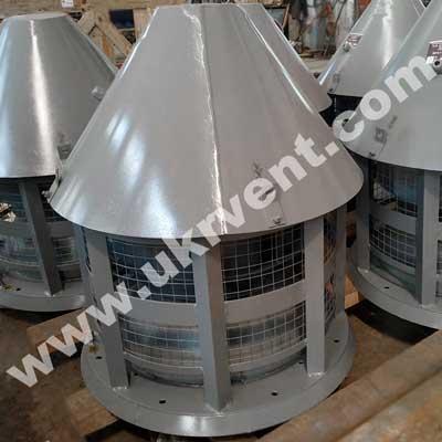 Крышный радиальный вентилятор ВДР-5