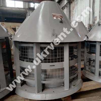 Радиальный крышный вентилятор ВКР