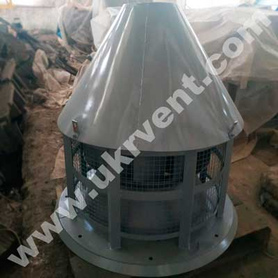 ВКР крышный радиальный вентилятор