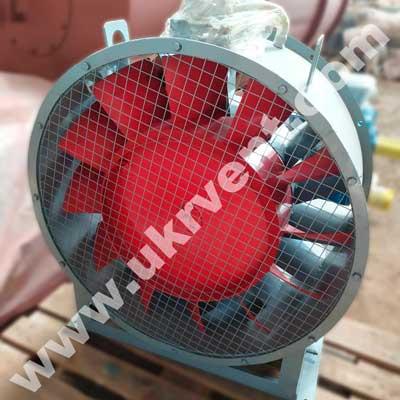 ВО-06-300 вентилятор осевой с опорой и 12 лопатками
