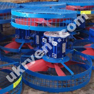 Вентиляторы для обдува ВОТ №360-450К У1 системы охлаждения силовых трансформаторов