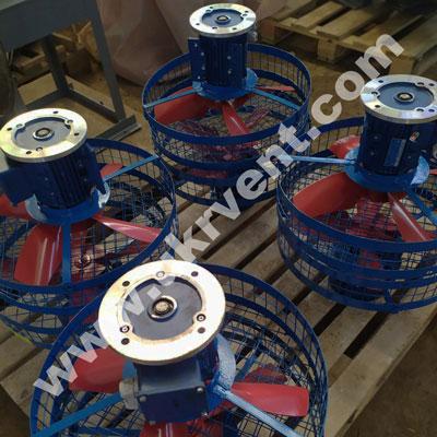Вентиляторы осевые ВОТ для обдува трансформаторов