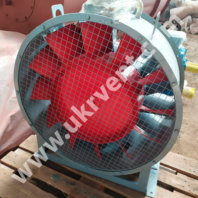 Вентилятор осевой В 2,3-130 Укрвентсистемы