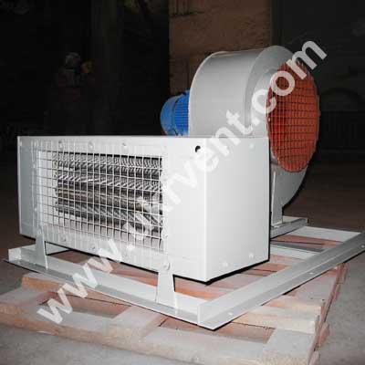 Агрегат воздушно-отопительный АО-ЕВР-2,3-30 Укрвентсистемы